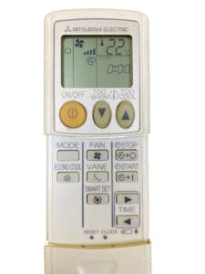 Mitsubishi Electric remote